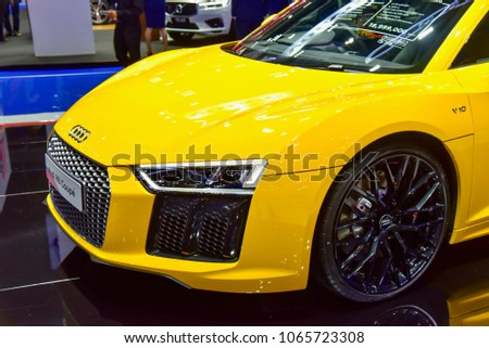 Bangkok Thailand April 03 2018 Yellow Stock Photo Edit Now
