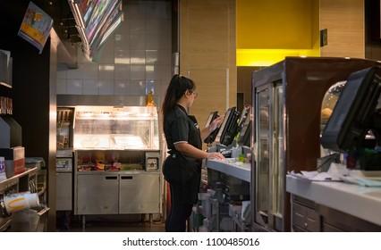 Mcdonalds Counter Images, Stock Photos & Vectors | Shutterstock