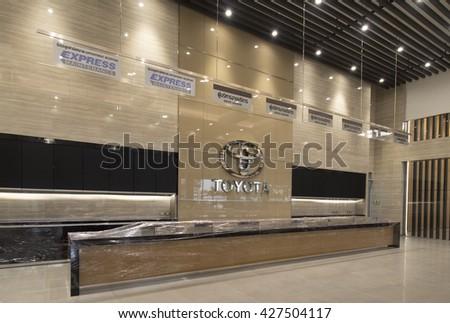 Bangkok Thailand April 2016 Modern Lobby Hallway Stock Photo Edit