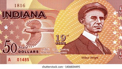 USA MISSISSIPPI 50 DOLLARS 2016 STATE 20TH PUSHMATAHA POLYMER