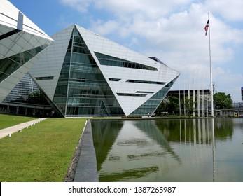 Bangkok, Thailand - April 29 2019: Bangkok University, Established in 1962, is one of the oldest.