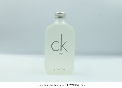 Bangkok , Thailand - April 6,2020 : CK Be and CK One Cologne made By Calvin Klein Perfume Company.