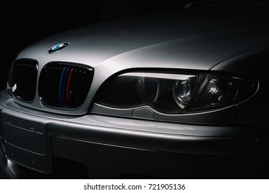 BANGKOK, THAILAND – AUGUST, 11 2017: BMW E46 is the fourth generation of the BMW 3 Series