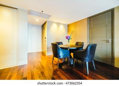 BANGKOK, THAILAND - AUGUST 12 2016: Beautiful luxury living room interior decoration in Hotel