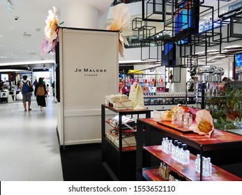 Bangkok, Thailand - August 24, 2019 : Jo Malone London shop at Siam Discovery. Jo Malone London is a British perfume and scented candle brand.