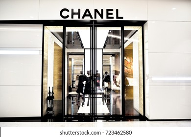 BANGKOK THAILAND , CHANEL Boutique store at The Emquartier Department store on September 9 2017, CHANEL Logo
