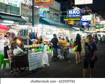Bangkok, Thailand - Circa December 2016 - Street photography session in Bangkok