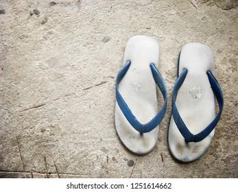 Bangkok Thailand December 02, 2018: Nanyang made in Thailand Sandals.