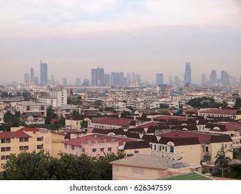 "BANGKOK, THAILAND - December 5 : Modern building of ""Bangkok Business Center"" on December 5, 2016 in Bangkok."