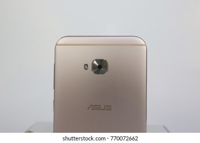 Bangkok , Thailand - DECEMBER 6, 2017 - Asus Zenfone 4 Selfie Pro Smartphone New Brand Of Asus for Editorial.