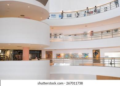 Bangkok, Thailand - Feb 27, 2015: Bangkok Art & Culture Centre. locate at center of bangkok.
