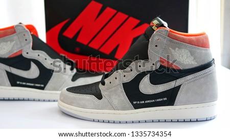 c252604b7db5 Bangkok Thailand Feb 9 2019 Nike Stock Photo (Edit Now) 1335734354 ...