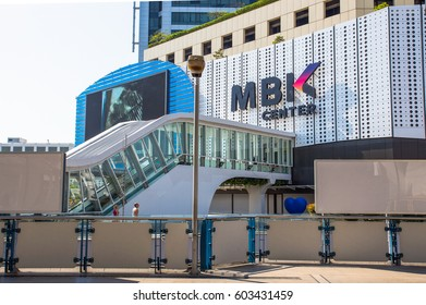 BANGKOK, THAILAND, FEBRUARY 08, 2017 - New MBK Shopping Center after renovated on February 08, 2017 in Bangkok, Thailand. MBK is one of the most popular shopping malls in Bangkok.