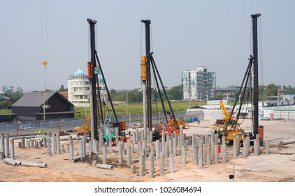Pile Foundations Images, Stock Photos & Vectors | Shutterstock