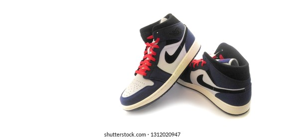 on sale 26340 3ac08 Air Jordan 1 Retro High Images, Stock Photos & Vectors ...