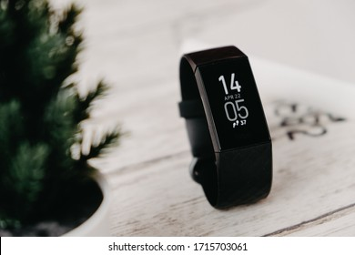BANGKOK THAILAND : Fitbit launch New Smartwatch Fitbit Charge 4 on April 27 ,2020 bangkok ,thailand