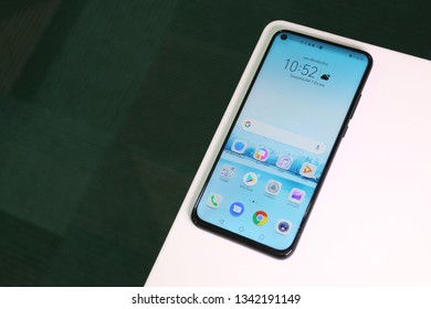 BANGKOK THAILAND : Honor launch New Smartphone Honor V20 (View 20 ) on March 10 ,2019 bangkok ,thailand