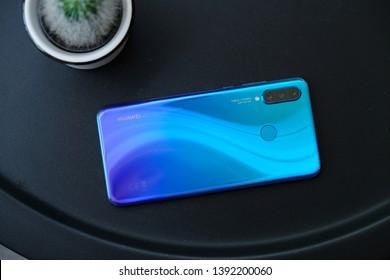 BANGKOK THAILAND : Huawei launch New Smartphone HUAWEI P30 Lite on May 1 ,2019 bangkok ,thailand