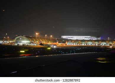 Bangkok, Thailand – January 1, 2019: Bangkok Suvarnabhumi Airport, Thailand, Asia