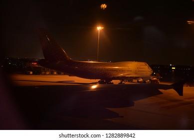 Bangkok, Thailand – January 1, 2019: Rossiya Airlines, Bangkok Suvarnabhumi Airport, Thailand, Asia