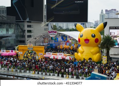 Bangkok, Thailand - January 10, 2015 : Pokemon Festival was organised for Children's day in Thailand.