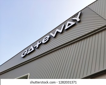 Bangkok, Thailand - January 12, 2019 : Gateway Bangsue, the new landmark shopping mall at Bangsue area.