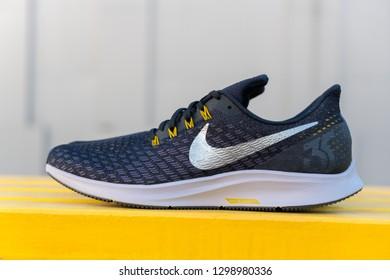 official photos 1cf44 bc8cd BANGKOK, THAILAND - JANUARY 13,2019  Nike Air Zoom Pegasus 35 Men s Running