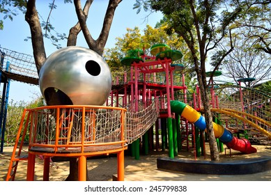 Bangkok, Thailand - January 20, 2015 Playground at The Children Museum, which free service. Open Tuesday to Sunday 10.00 am  - 6 pm.