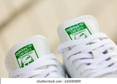 analizar pierna Chillido  Bangkok Thailand January 23 2017 Adidas Stock Photo (Edit Now) 610583009