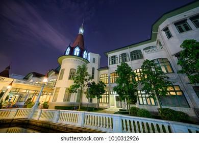 BANGKOK, THAILAND - JANUARY 25, 2018:Phaya Thai Palace.