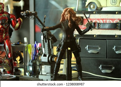 Black Widow Avengers Images Stock Photos Vectors Shutterstock