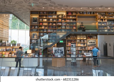 Bangkok, Thailand - July 16, 2017 : The Open House at Central Embassy, one of the newest book store in the heart of Bangkok located on the level 6 of the luxurious Central Embassy Department Store