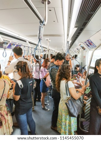 Bangkok Thailand July 25 2018 People Stock Photo Edit Now