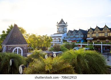 Bangkok, Thailand. - July 30, 2017 : Pickadaily Bangkok shopping mall in English or Europe style, shopping mall and location on Onnuch, Bangkok, Thailand.