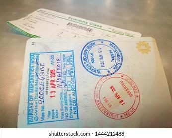 Imágenes, fotos de stock y vectores sobre Indian Visa
