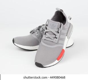 BANGKOK, THAILAND - July  8,2016: Adidas nmd moscow runner shoes  - illustrative editorial