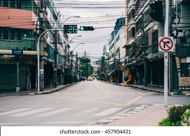 BANGKOK THAILAND - JULY 9: View of Old town in Bangkok, on  July 9, 2016 in Bangkok, Thailand.