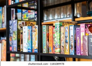 Marvelous Board Games On Shelf Images Stock Photos Vectors Download Free Architecture Designs Scobabritishbridgeorg