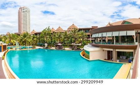 Bangkok Thailand June 18 Swimming Pool Stock Photo Edit Now