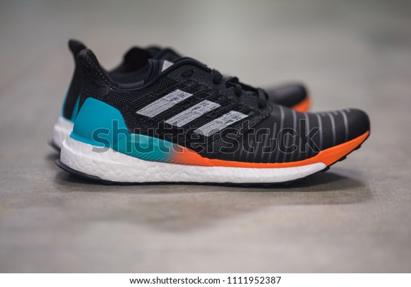 wholesale dealer 31824 33bfa Bangkok Thailand June 2018 Adidas Solarboost Stock Photo ...