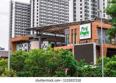 BANGKOK, THAILAND : June 25 ,2018 - I'm park lifestyle mall in town centre