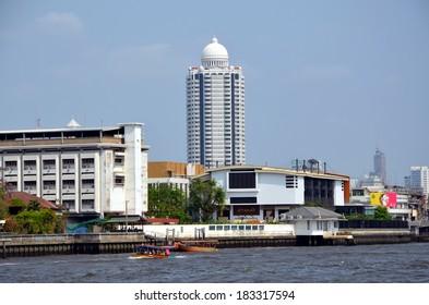BANGKOK, THAILAND, MARCH 19, 2014: City view of Bangkok, the capital city of Thailand