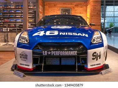 BANGKOK, THAILAND : March 25, 2019 – HONDA NSX supercar modified in 40th Bangkok International Motor Show 2019 at Muang Thong Thani, Nonthaburi, Thailand