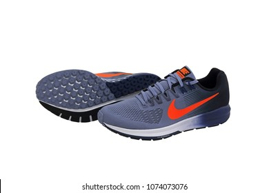 BANGKOK, THAILAND - March 26, 2018: NIKE AIR ZOOM STRUCTURE 21 men's running