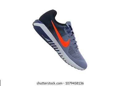 best loved a9662 cf95d BANGKOK, THAILAND - March 26, 2018  NIKE AIR ZOOM STRUCTURE 21 men s running