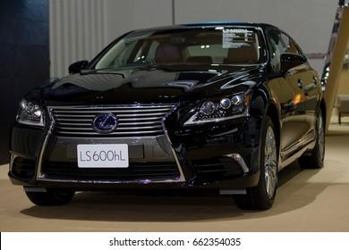 Bangkok, Thailand - March 28, 2014: Lexus new model presented in Bangkok Motor Show 2014