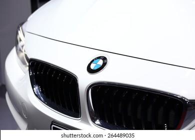 BANGKOK, THAILAND - MARCH 28, 2015: Logo of  BMW car  on March 28 2015 in Bangkok Thailand.