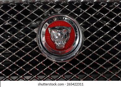 Prague Czech Republic 02082015 Logo Jaguar Stock Photo Edit Now