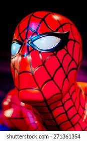 BANGKOK THAILAND - MARCH 5, 2015: Marvel Spider Man Figure