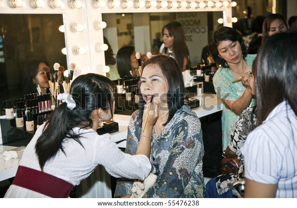 Bangkok Thailand May 11 Cosmetic Company People Stock Image 55476238